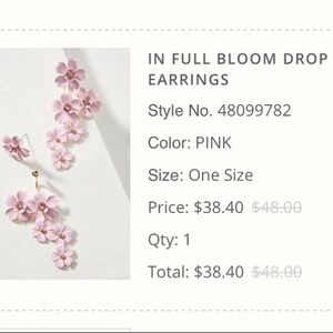 In Full Bloom Drop Earrings